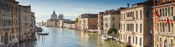Santa Maria Della Salute, Grand Canal, Venecia Fotografía de archivo libre de regalías