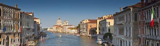Santa Maria Della Salute Grand Canal, Venedig Arkivbild