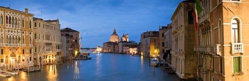 Santa Maria Della Salute, Grand Canal, Venetië Stock Afbeeldingen