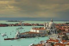 Santa Maria della Salute in Venice Royalty Free Stock Image