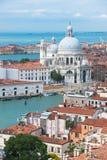 Santa Maria della Salute, Venice, Italy Stock Images