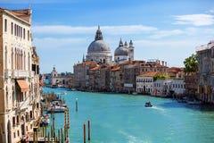 Santa Maria della Salute. Venice. Italy. Stock Photos
