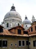 Santa Maria della Salute, Venice. Santa Maria della Salute - the largest domed church in Venice Stock Images