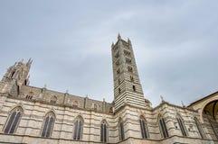 Santa Maria della Scala, a church in Siena, Tuscany, Italy. Royalty Free Stock Photos