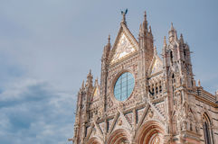 Santa Maria della Scala, a church in Siena, Tuscany, Italy. Stock Photo