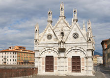 Santa Maria della Spina church in Pisa, Italy. Royalty Free Stock Photo