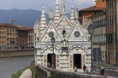 Santa Maria della Spina katedra, Pisa, Włochy Obrazy Royalty Free