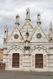 Santa Maria della Spina kyrka i Pisa, Italien Arkivfoton