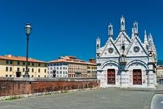 The Santa Maria della Spina, Pisa Stock Photo