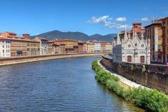 Santa Maria della Spina, Pisa, Italia fotografia stock libera da diritti
