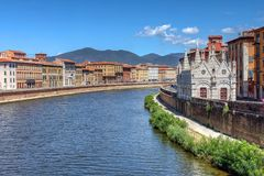 Santa Maria della Spina, Pisa, Italy Royalty Free Stock Photography