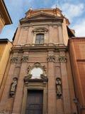 Santa Maria della Vita church in Bologna. Church of Santa Maria della Vita (meaning St Mary of Life) in Bologna, Italy Stock Images