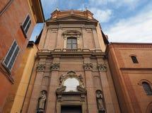 Santa Maria della Vita church in Bologna. Church of Santa Maria della Vita (meaning St Mary of Life) in Bologna, Italy Royalty Free Stock Photos