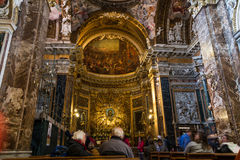 Santa Maria della Vittoria Obrazy Stock