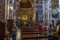 Santa Maria della Vittoria Foto de Stock