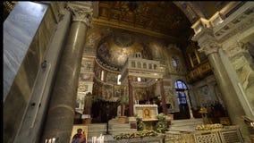Santa Maria della Vittoria vídeos de arquivo