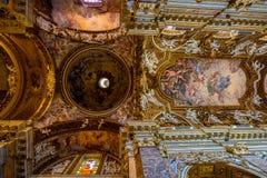 Santa Maria della Vittoria kościół. Rzym. Włochy. zdjęcia royalty free