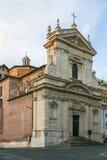 Santa Maria della Vittoria Rome royaltyfria foton