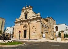 Santa Maria Delle Grazie-Kirche Galatina, Apulien, Italien lizenzfreie stockfotografie
