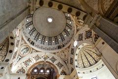 Santa Maria delle Grazie (Milan), interior Stock Images