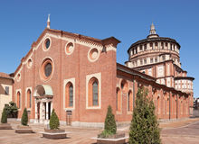 Santa Maria delle Grazie in Milan (Italy). Santa Maria delle Grazie (Milan, Italy). This church and the adjacent Dominican convent were built during the 15th Stock Images