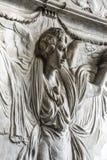 Santa Maria delle Grazie (Milan): sculpture Royalty Free Stock Photo