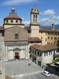 Santa Maria delleCarceri kyrka i Prato Royaltyfria Foton