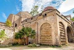 Santa Maria dello Spasimo Unfinished Church, is located in the Kalsa district, one of the oldest parts of Palermo, Italy Stock Photography