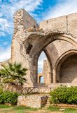 Santa Maria dello Spasimo Unfinished Church, is located in the Kalsa district, one of the oldest parts of Palermo, Italy Stock Image