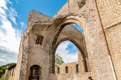 Santa Maria dello Spasimo Unfinished Church, is located in the Kalsa district, one of the oldest parts of Palermo, Italy Stock Photo