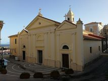 Santa Maria di Castellabate - fristad av Santa Maria en sto Fotografering för Bildbyråer