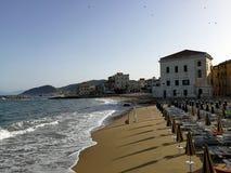 Santa Maria di Castellabate - Marina Piccola beach Stock Photo