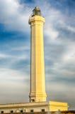 Santa Maria di Leuca iconic lighthouse, Salento, Apulia, Italy Royalty Free Stock Image