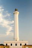 Santa Maria di Leuca iconic lighthouse, Salento, Apulia, Italy Stock Images