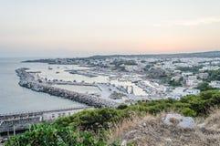 Santa Maria di Leuca waterfront, Salento, Apulia, Italy Stock Photography