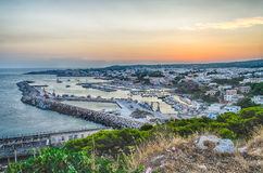 Santa Maria di Leuca waterfront, Salento, Apulia, Italy Stock Image