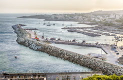 Santa Maria di Leuca waterfront, Salento, Apulia, Italy Stock Images