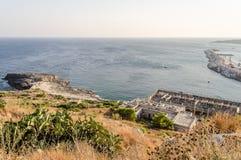 Santa Maria di Leuca waterfront, Salento, Apulia, Italy Royalty Free Stock Photo