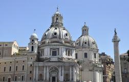 Santa Maria Di Loreto †'Rzym fotografia stock