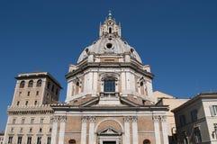 Santa Maria di Loreto на форуме Trajan, Риме, Италии стоковое фото