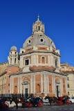Santa Maria di Loreto в Риме Стоковые Фотографии RF