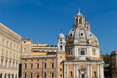 Santa Maria di Loreto Stock Photo