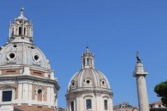 Santa Maria di Loreto royaltyfri fotografi