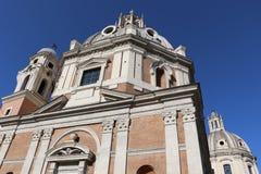 Santa Maria di Loreto arkivfoton