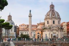 Santa Maria di Loreto-Kirche in Rom, Italien Lizenzfreie Stockfotos