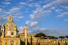 Santa Maria Di Loreto Kościół Obraz Stock
