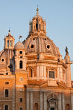 Santa Maria di Loreto, Rom lizenzfreies stockfoto