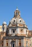 Santa Maria di Loreto, Rome Stock Image