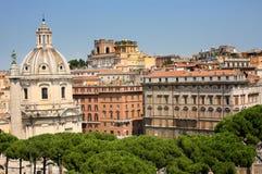 Santa Maria di Loreto, Rome, Italiy Stock Images