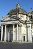 Santa Maria di Montesanto, Rome Stock Photos